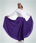 Women's Chiffon Full Length Floor Skirt including plus size - You Go Girl Dancewear