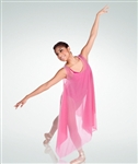 Body Wrappers Reversible Double Layer Chiffon Tank Pullover - You Go Girl Dancewear