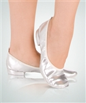 Body Wrappers Adult Metallic Foldable Slipper - You Go Girl Dancewear