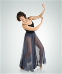 Body Wrappers Women's Long Full Length Floor Skirt - You Go Girl Dancewear