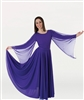 Body Wrappers Women's Plus Size Praise Dance Extra Full & Long Circle Skirt