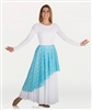 Body Wrappers Adult's Asymmetrical Lace Skirt