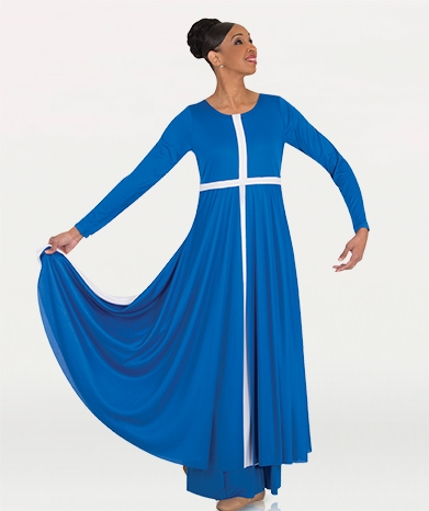 5cacc23be9a Body Wrappers Women s Plus Size Worship Dance Cross Component