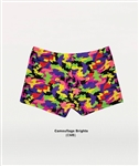Body Wrappers Camouflage Brights Hot Shorts