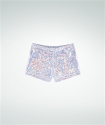 Body Wrappers Razzle Dazzle Opal Hot Shorts