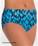 Body Wrappers Adult and Child Diamondback Trendy Dance Brief