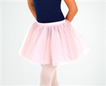 Body Wrappers Women's Black Tutu Wrap Skirt - size 2X