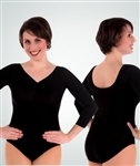 Body Wrappers 3/4 Length Sleeve - You Go Girl Dancewear