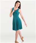Body Wrappers Plus Size Butter Tank Above-the-Knee Dress