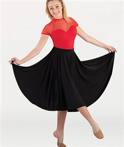 Body Wrappers Adult Below-the-Knee Circle Skirt