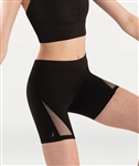 Body Wrappers Adult Compression Mid-Thigh Short