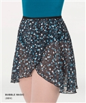 Body Wrappers Adult Chiffon Print Skirts