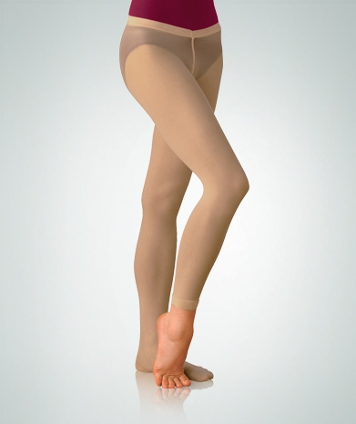9d9f096f8f748 Body Wrappers Women's Low rise convertible dance tights - You Go Girl  Dancewear