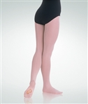 Body Wrappers Women's totalSTRETCH Mesh Backseam Convertible Dance Tights