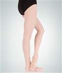 Body Wrappers Women's totalSTRETCH Adult's Shear Weight Mesh Backseam Tights
