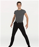 Body Wrappers Boy's Straight Leg Dance Slacks