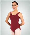 Body Wrappers Women's Plus Size Cotton Tank Leotard
