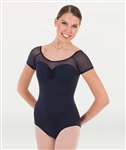 Body Wrappers Tweens Cap Sleeve Leotard