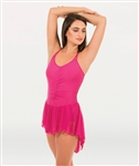 Body Wrappers Tween Double Strap Camisole Dance Dress