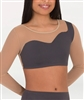 Body Wrappers Long Sleeve Asymmetrical Bra