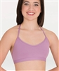 Body Wrappers Halter Open Back Bra
