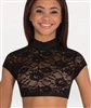 Body Wrappers Lace Sweetheart mock-neck Open Back Bra Top for girls and adults - You Go Girl Dancewear