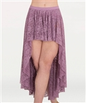 Body Wrappers Women's Lace Convertible Long Back Drapey Skirt in Sizes XS/S, M/L, XL/2X - You Go Girl Dancewear Order today!