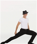 Body Wrappers Men's Straight Leg Dance Slacks