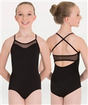 Body Wrappers Mesh Inserts Camisole Leotard