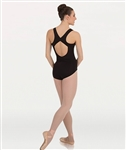 Body Wrappers Tweens Curve Back Tank Leotard - You Go Girl Dancewear