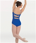 Body Wrappers Tweens Camisole Cross Back Leotard - You Go Girl Dancewear