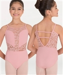 Body Wrappers Camisole Romantic Lace Leotard