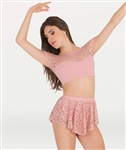 Body Wrappers Romantic Lace Skirt
