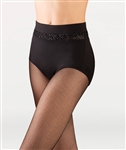Body Wrappers Open Mesh Hi-Waist Brief