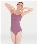Body Wrappers Loop Back Camisole Leotard