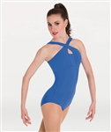 Body Wrappers Cross-Over Neck Leotard