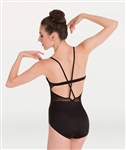 Body Wrappers PREMIER Pointella Mesh Bustier Leotard