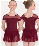 Body Wrappers Illusion Skirted Leotard