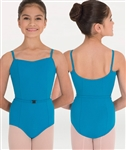 Body Wrappers Belted Camisole Leotard