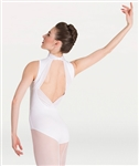 Body Wrappers Power Mesh Accent Leotard