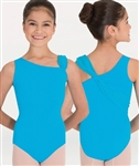 Body Wrappers Asymmetrical Mesh Strap Leotard - You Go Girl Dancewear
