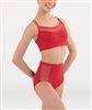 Body Wrappers Tween Fine Mesh Stripe Brief