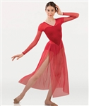 Body Wrappers Tween Long Sleeve Dance Dress