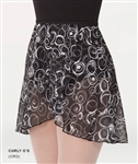 Body Wrappers Adult Chiffon Skirt - Curly O's