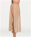 Body Wrappers Adult Chiffon Side Slit Skirt