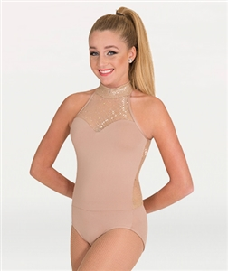 Body Wrappers Adult Open Back Leotard