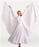 Body Wrappers Adult Angel WIngs/Cape