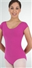 Body Wrappers Child Short Sleeve Leotard