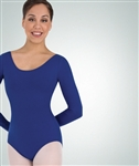 Body Wrappers Cotton Child Long Sleeve Leotard