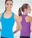 Body Wrappers Youth Racerback Top - You Go Girl Dancewear